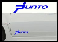 FIAT PUNTO CAR BODY DECALS